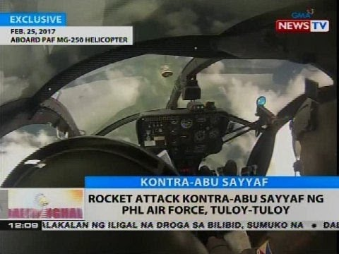 BT: Rocket attack kontra-Abu Sayyaf ng PHL Air Force, tuloy-tuloy
