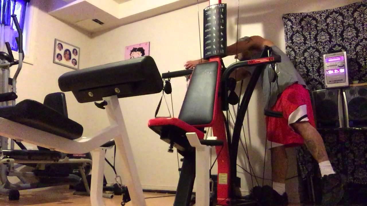 Bowflex PR3000 chest workout