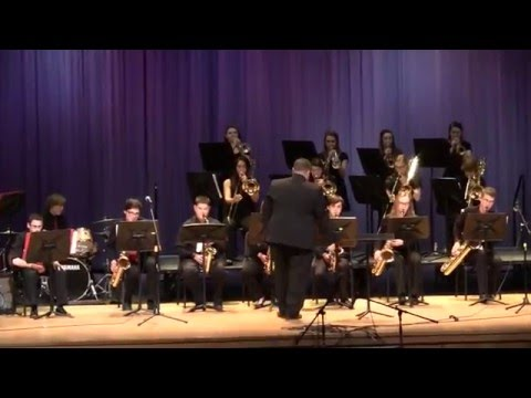 Wakefield Memorial High School Jazz Band - BSF - 3/8/16
