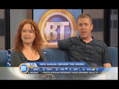Red Dirt Skinners interview live on Breakfast TV, Montreal, Canada April 2016