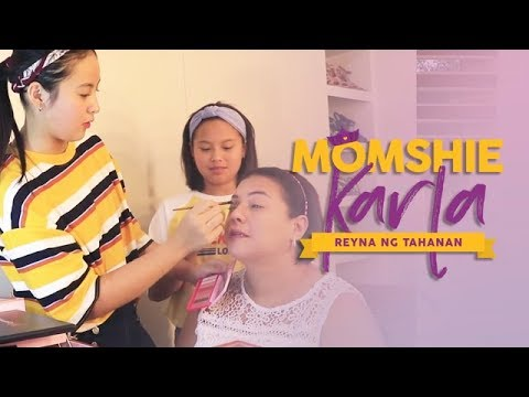 Makeup Session With Magui | Momshie Karla: Reyna ng Chikahan
