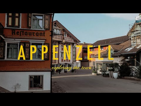Weekend Away Part 2: Exploring Appenzell, Toboggan Run, Mount Säntis | InkyChérie