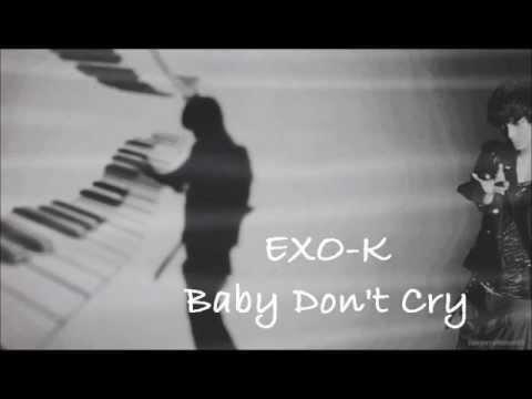 Exo-k Baby don't cry Lyrics - YouTube