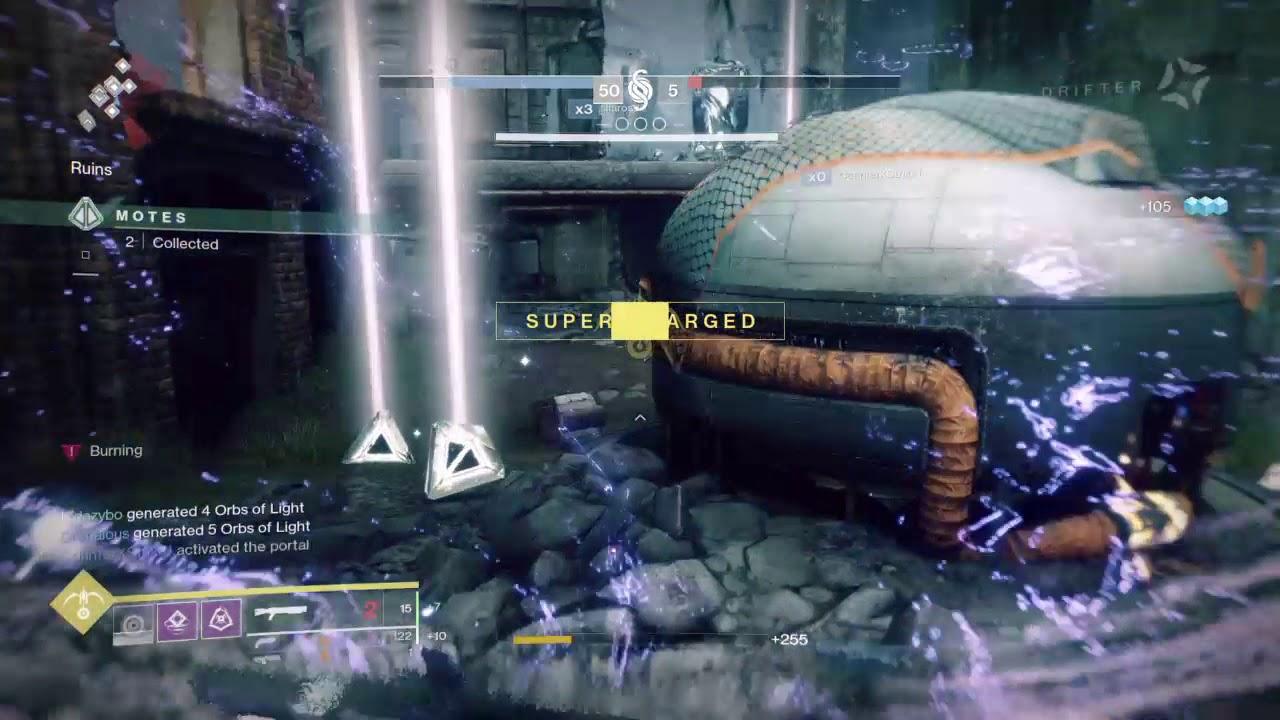 Destiny 2 wooooooo top bananas mia