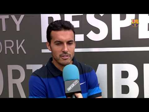 """Pedro Rodríguez: """"Espero que el Barça siga ganando como ha hecho siempre"""""""
