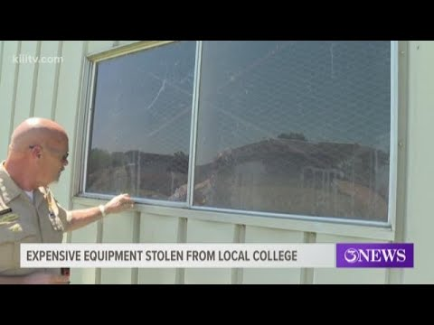 Coastal Bend College Beeville searches for stolen equipment