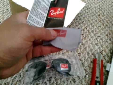 fake wayfarer ray bans  UNBOXING: FAKE RAY-BAN AVIATOR \u0026 WAYFARER - YouTube