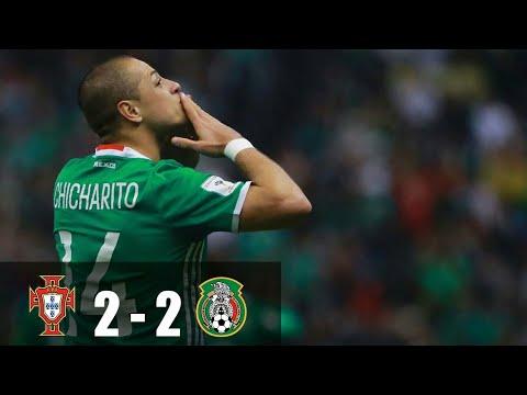 Portugal vs Mexico 2-2 - Goals &  - 18/06/2017