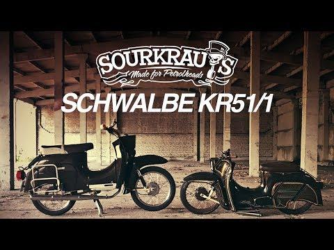 Sourkrauts: Custom Simson Schwalbe KR511  engl. Subtitles