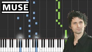 Muse - Dead Inside | EASY Piano Tutorial