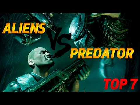 Aliens vs Predator 2010 - серия 1 [Хищник]