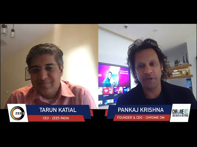 Chrome Talkies Season 2: Episode 10 - Tarun Katial | CEO – ZEE5 India
