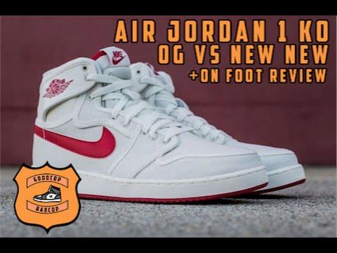 09b02e8396aa89 Air Jordan 1 AJKO + ON FOOT REVIEW - GOODCOP BADCOP - YouTube
