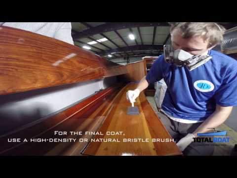 How to Use TotalBoat Envy 2-Part Varnish