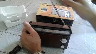 Rádio panasonic RF-562DD FM-MW -SW