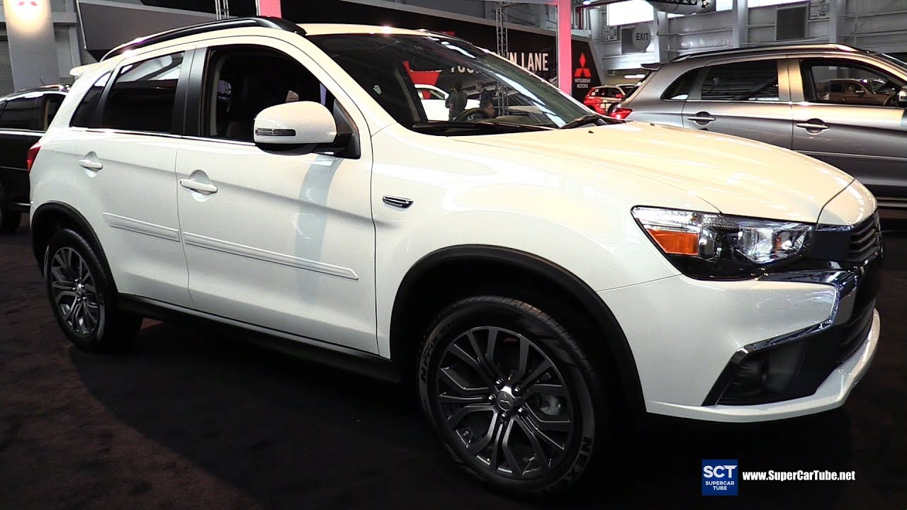 2016 mitsubishi outlander sport 24 sel exterior and interior walkaround 2016 new york auto show youtube