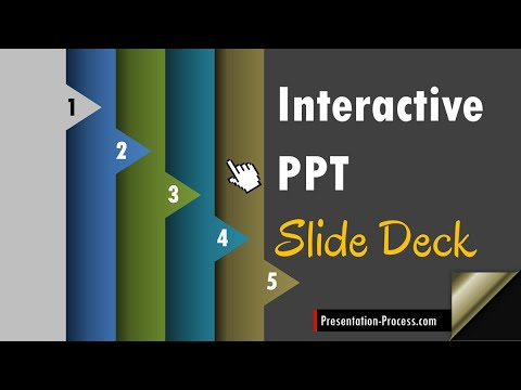Create An Interactive Slide Deck In Powerpoint Youtube