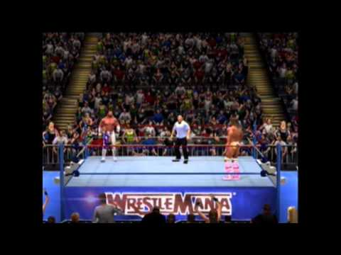 WWE 13 Wrestlemania 7 Macho Man vs The Ultimate Warrior ...