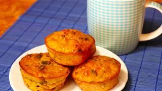 Маффины морковные с семечками | Правильное питание