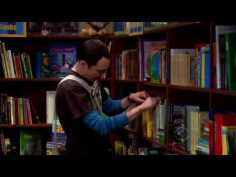 Sheldon Cooper @ The Bookstore