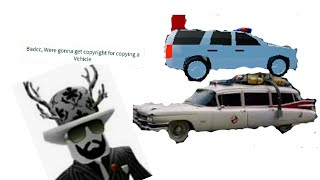 Recrating Iconic Movie Cars in Roblox Jailbreak - Ghostbusters Ecto 1