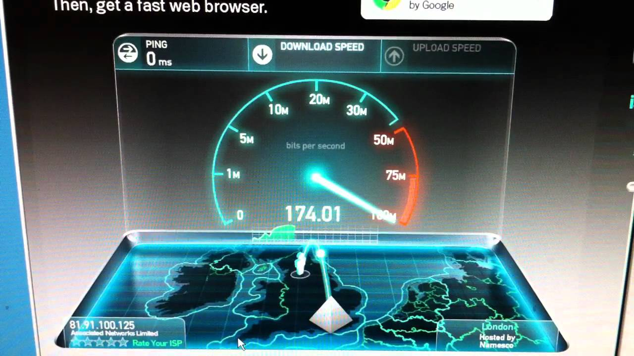 Fastest Internet Speedtest In The Uk 268 32mb S Fastest