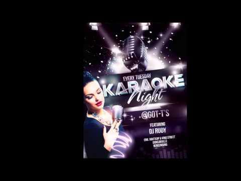 Karaoke & Dance at GOT-T'S Pub on Tuesday 23 September 2014