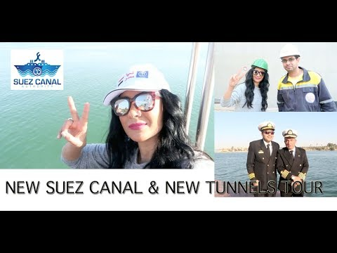 Weekend Vlog: New Suez Canal | Suez Canal New Tunnels | New Ismailia City
