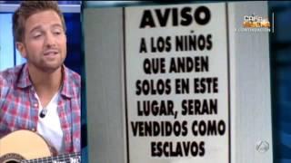 Escribircanciones.com.ar - Pablo Alboran le pone musica a carteles