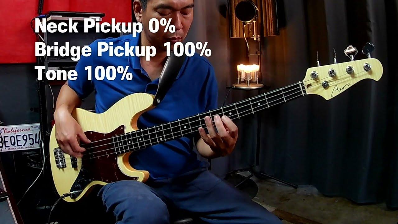 AIO JB4 Bass / $449 Jazz Bass Demo