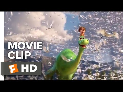 The Good Dinosaur Movie CLIP - Above the Clouds (2015) - Pixar Animated Movie HD