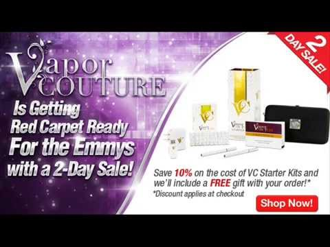 Get Free Vapor Couture E Cigarette Coupon Code October 2014