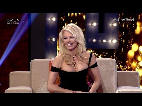 Η Πάμελα Άντερσον στο It's Show Time του Νίκου Κοκλώνη - PascalGR