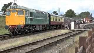 GREAT CENTRAL RAILWAY DIESEL GALA 30th AUGUST 2014