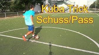 Fußball /Kuba Überraschungs Trick Schuss lernen /Tipps, Erklärung, Technik, Wie machen
