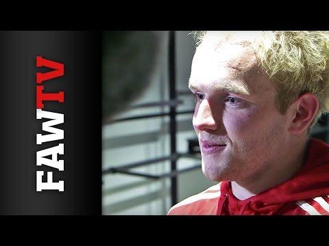 Jonny Williams Post Match Interview -  Andorra