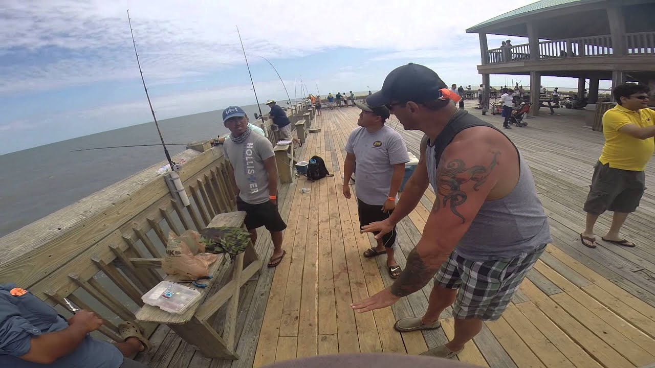 Folly Beach Pier fishing 4