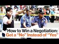 """How to Win at Negotiations: Get a """"No"""" and a """"That's Right,"""" with FBI Negotiator Chris Voss"""