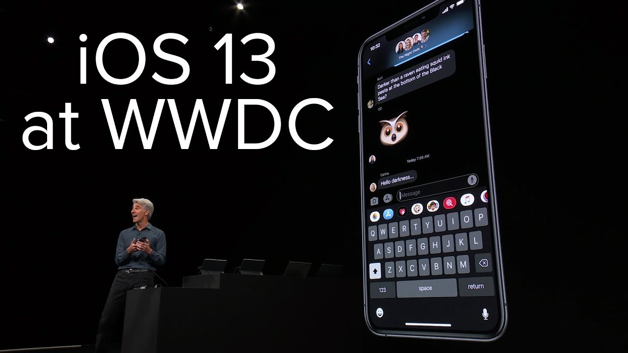 iOS 13 release time  huge iPhone update adds Dark Mode and swipe-texts today