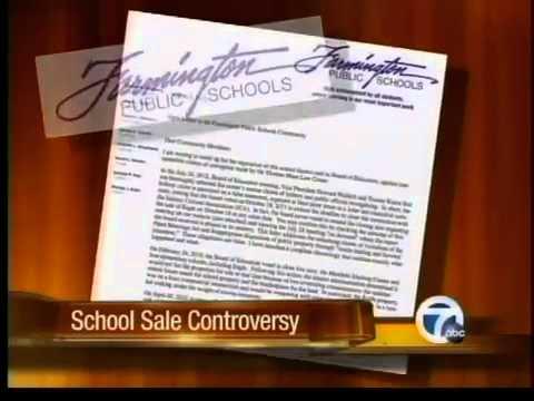 Farmington schools fire back after school sale questioned