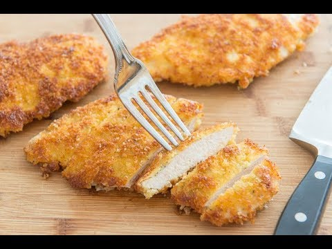 Crispy Parmesan Crusted Chicken Recipe – Quick Weeknight Dinner