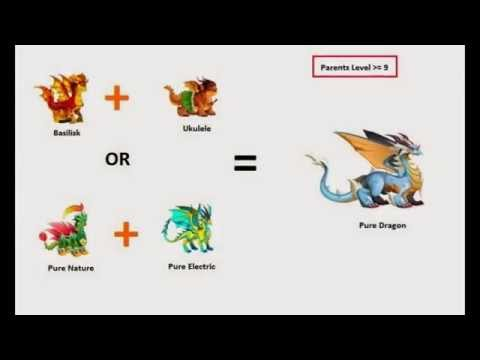 How To Breed Pure Dragons In Dragon City New