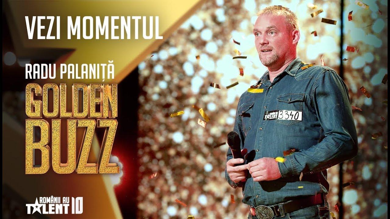 Al patrulea Golden Buzz. Mecanicul auto Radu Palaniță l-a convins cu vocea sa pe Florin Călinescu