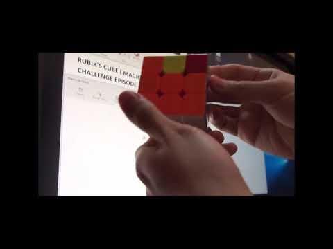 Rubik's Cube (Magic Block 3x3) Challenge Episode 11 |