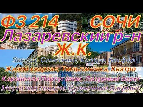 Сочи- Лазаревский р-н. ФЗ 214. Дорога, пляж, школы. Что покупать?
