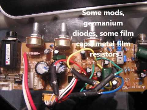 Amplifier Schematic Diagram Yamaha Ga 10 Build Slow Disaster High Quality Youtube