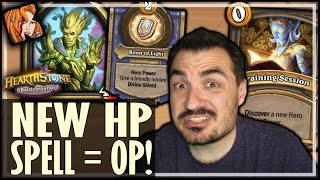 THAT'S WHY YOU CHANGE HERO POWER! - Hearthstone Battlegrounds