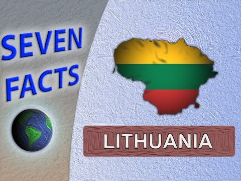 7 Facts about Lithuania