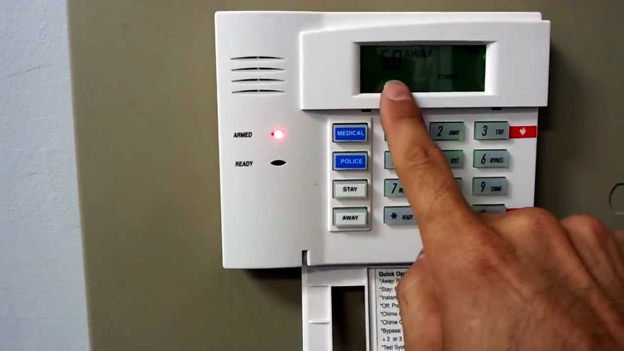 How to reset honeywell security system after alarm youtube.