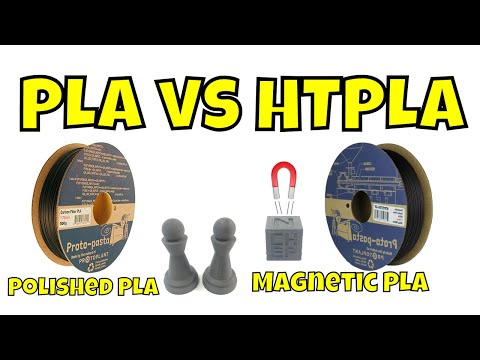 HTPLA vs PLA and more with Proto-Pasta